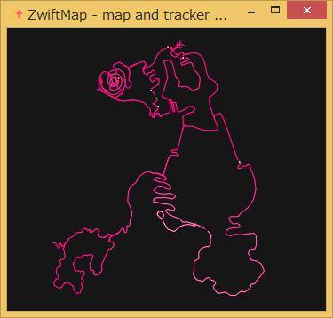 【ZWIFT Hacks】「全体マップ」「平均速度」「w/kg」を表示させる方法