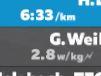 ライド画面の詳細説明 ZWIFT ズイフト 近くを走っているライダーの情報