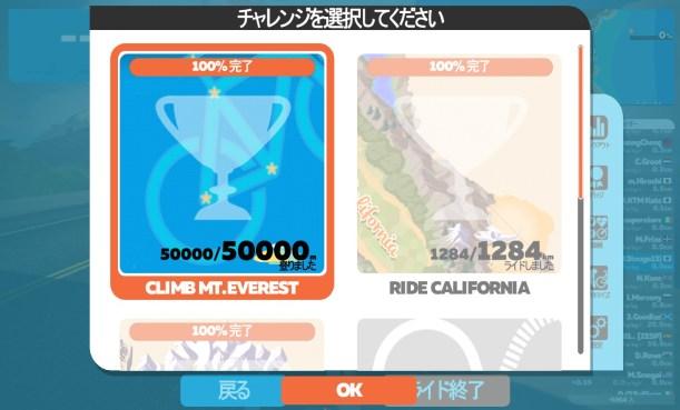ZWIFT(ズイフト) 4つのチャレンジの詳細&獲得バイクフレーム