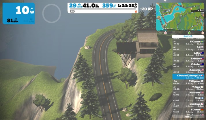 scotty's hillside condo  ZWIFT ズイフト ワトピア