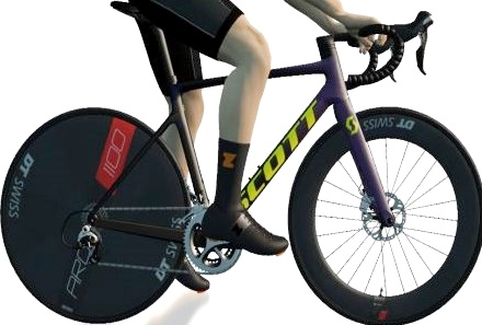 ZWIFT(ズイフト) 全90種のバイクフレーム入手方法 SCOTT 『Addict RC』