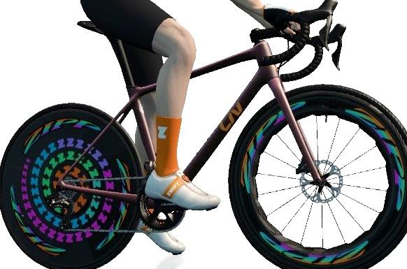 ZWIFT(ズイフト) 全92種のバイクフレーム入手方法 Liv『Langma SL Advanced Disc』