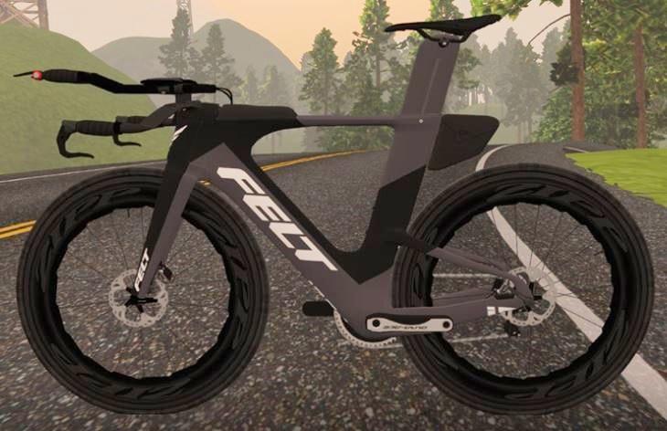 ZWIFT(ズイフト) 全58種のバイクフレーム入手方法 FELT IA