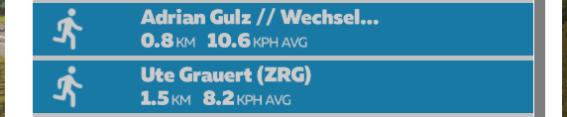 プレイ中のズイフター一覧 ZWIFT(ズイフト)「ホーム」画面の詳細説明