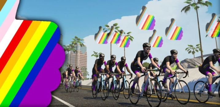 Pride on 2020 ズイフトイベント