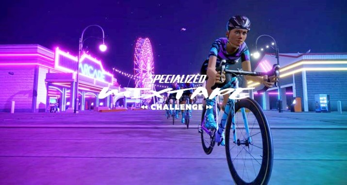 zwift ズイフト イベント Specialized Mixtape Challenge