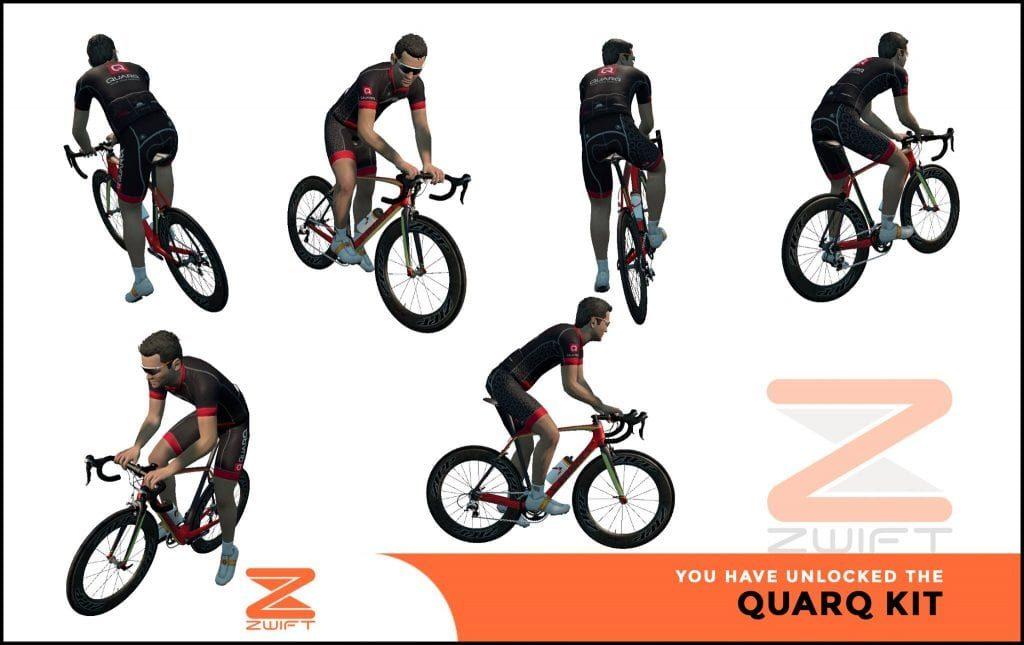 Quarq ZWIFT(ズイフト) 全ジャージ入手方法、プロモコード一覧