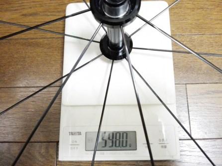 SACRAホイール『KYLE5』乗車前インプレ。徹底分析してみた。 実測重量 重さ