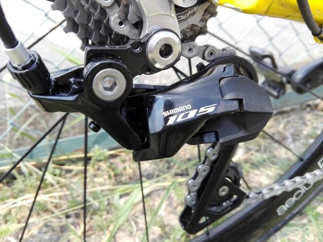 リアディレイラー シマノ105 R7000を忌憚なくインプレッション。実測重量/使用感まとめ。