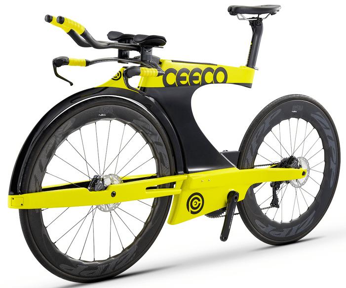 CEEPO『SHADOW-R』のスペック 2019 CEEPO『SHADOW-R』斬新すぎるサイドフォーク搭載のトライアスロンバイク
