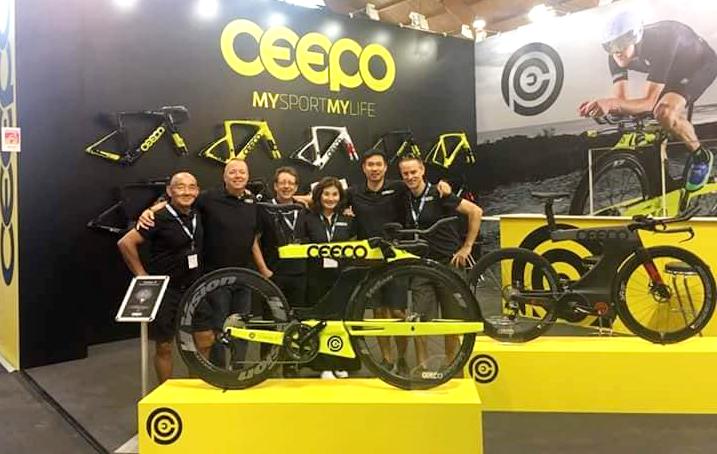 試乗会 2019 CEEPO『SHADOW-R』斬新すぎるサイドフォーク搭載のトライアスロンバイク