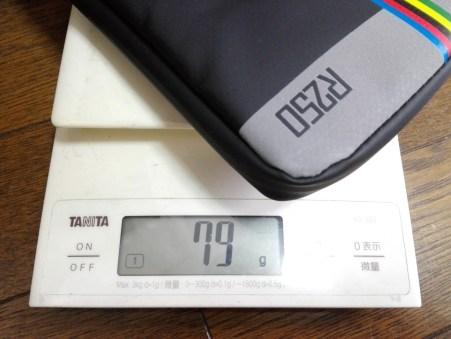 重さ 重量 R250 VS GORIX。どちらのライドポーチが優れているのかを検証。