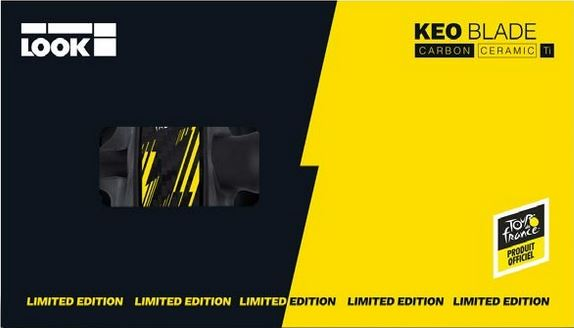 LOOK『Keo Blade Carbon Ceramic Ti』新情報!まず限定1700のTdF Ver.
