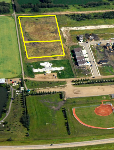 dog park aerial