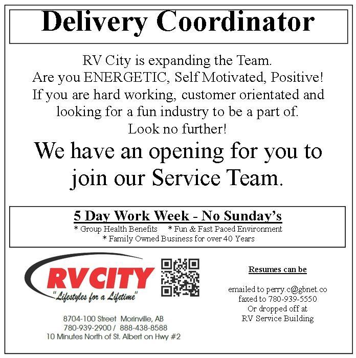 RV Delivery Coordinator