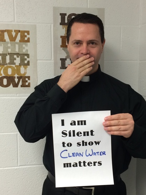Father Martin silent