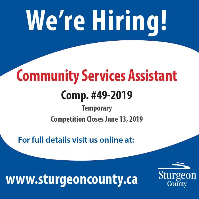 pub_Job Posting_Community Services Assistant_MN_20190601