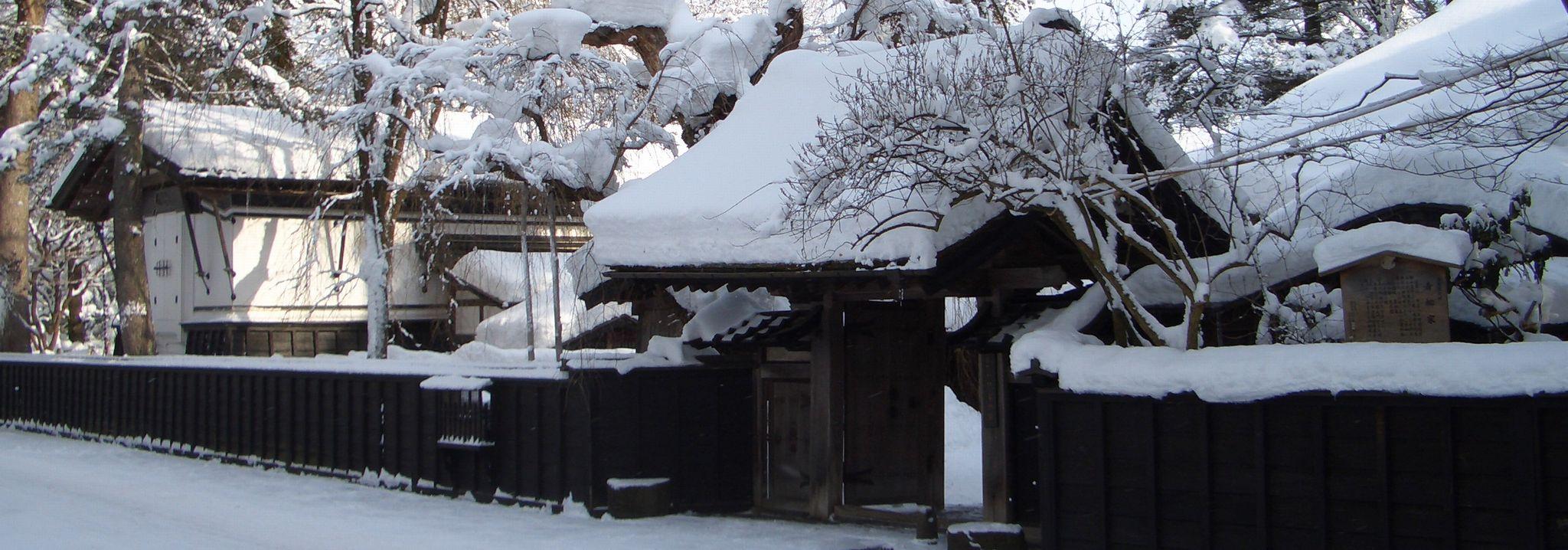 角館武家屋敷の冬