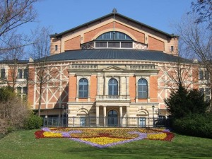 バイロイト祝祭劇場 (Bayreuther Festspielhaus)
