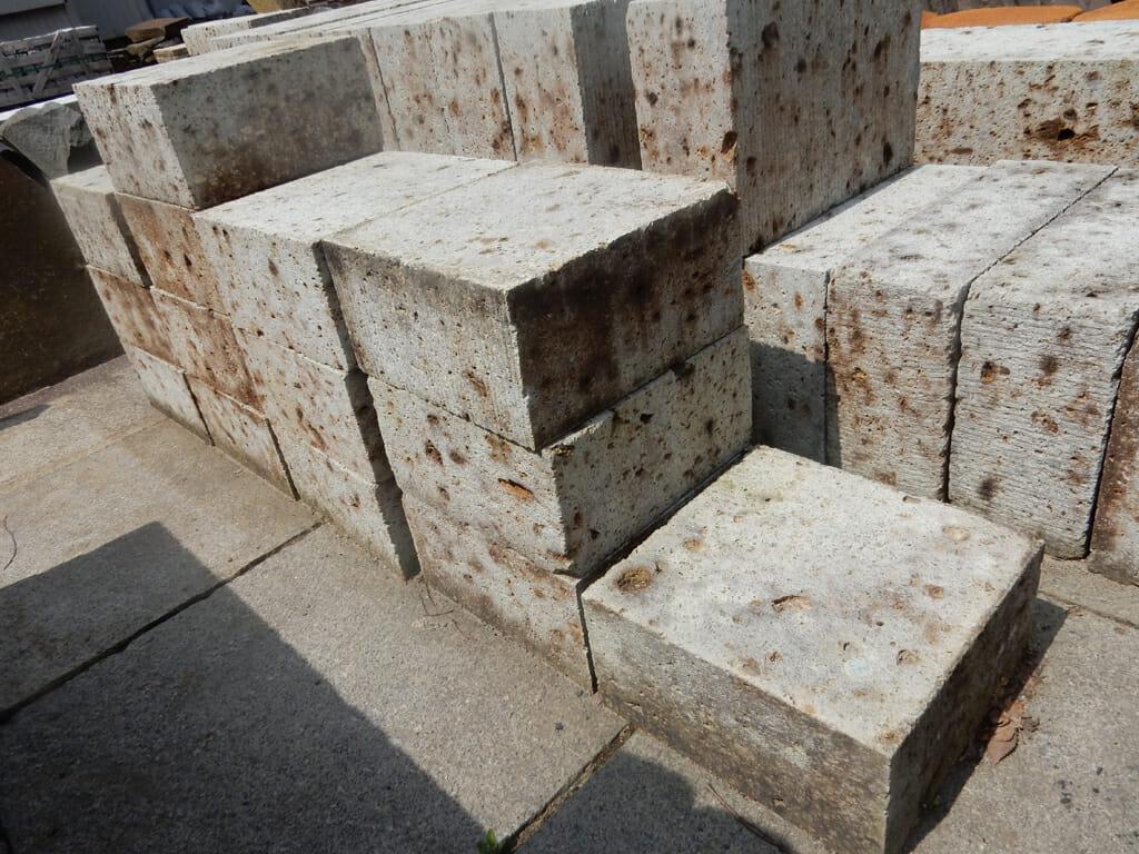 大谷石反切り 30×30×15cm