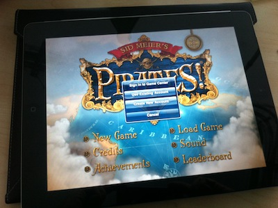 Sid Meier's Pirates for iPad