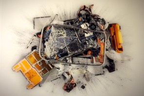 Destroyed Apple Products