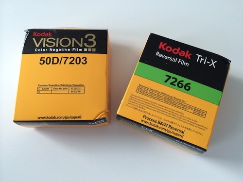 Kodak 8mm cartridges