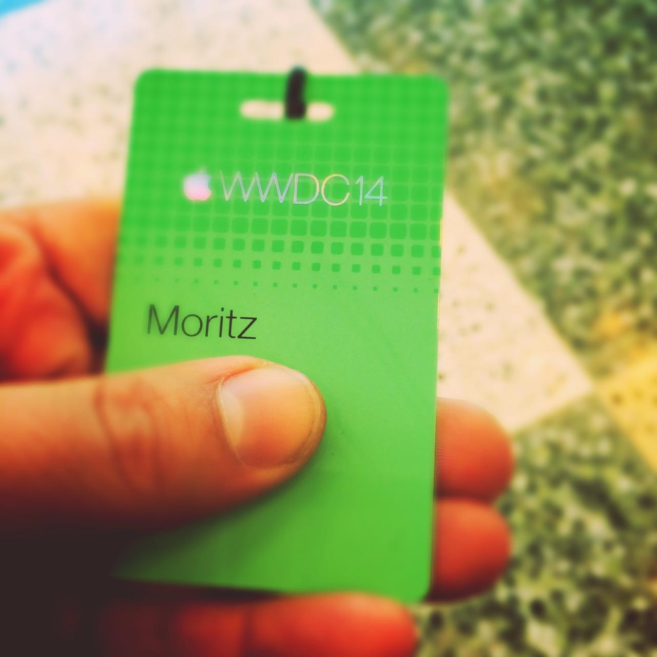 WWDC 2014 - badge