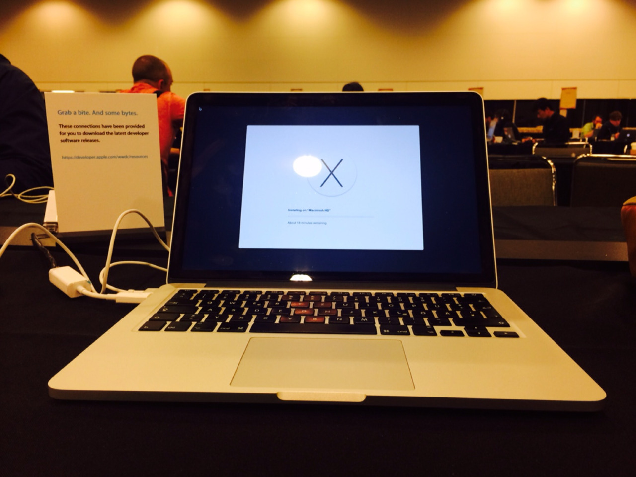 WWDC 2014 - installing Yosemite