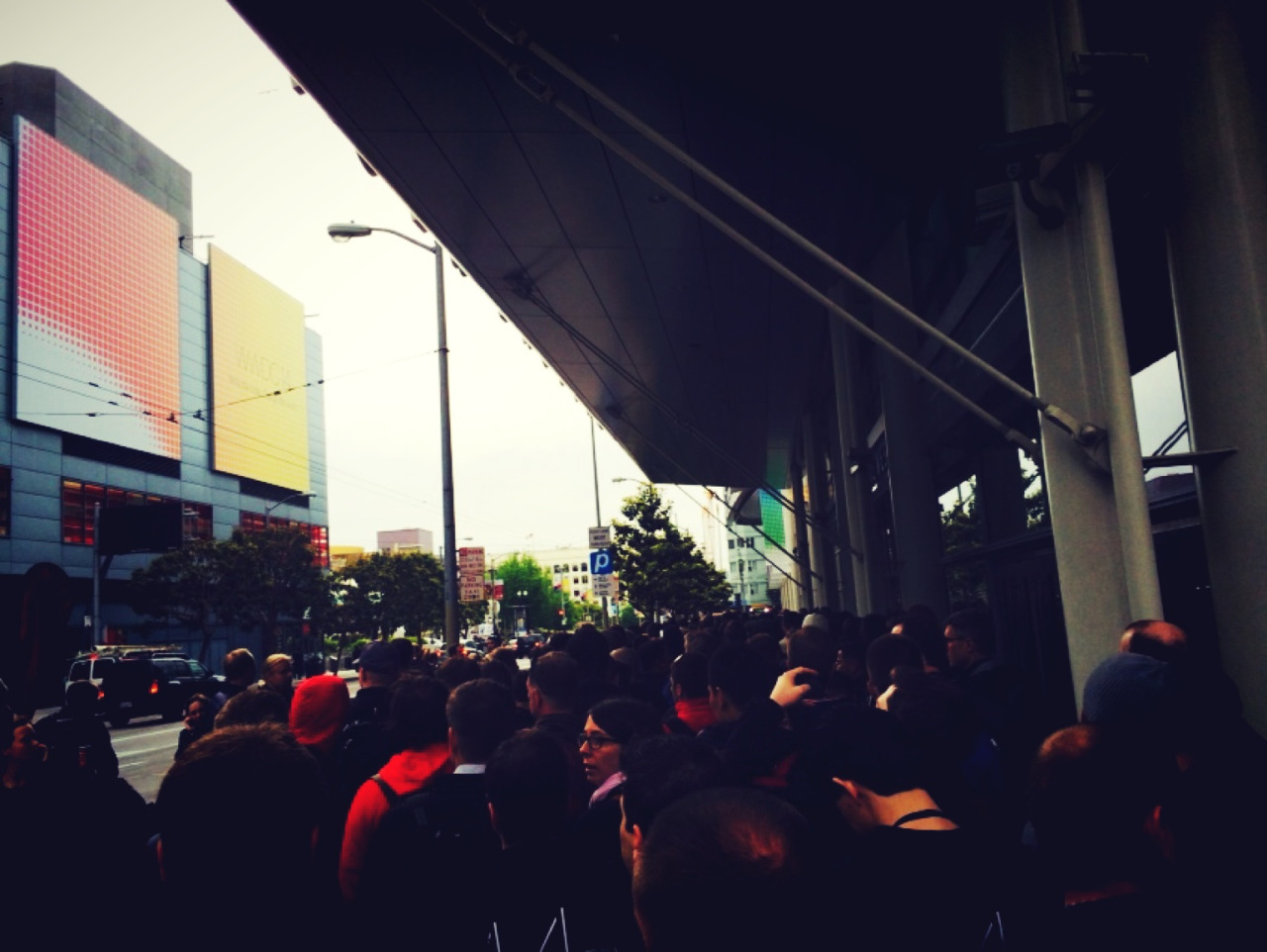 WWDC 2014 - wait in line