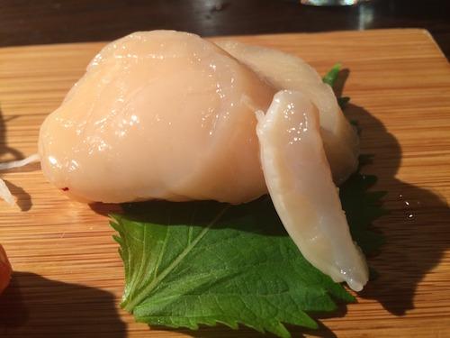 Akiko's Restaurant - scallop (hotategai)