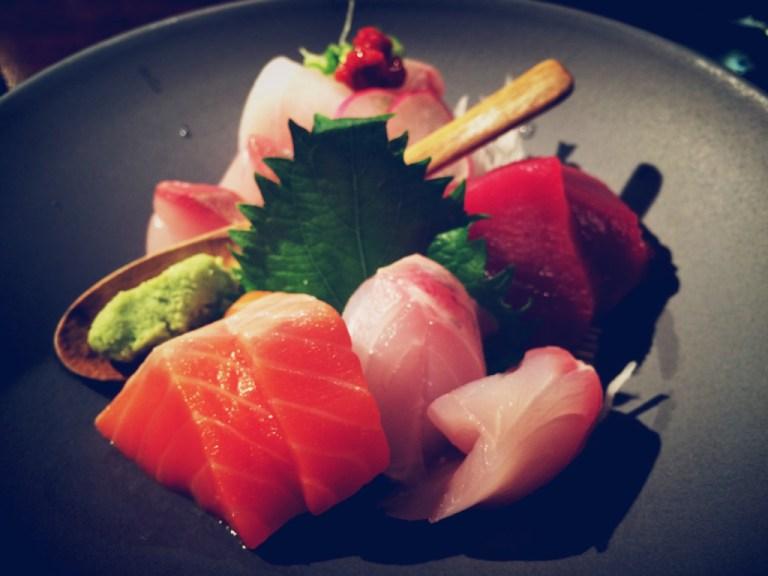 Akiko's Restaurant - omakase sashimi