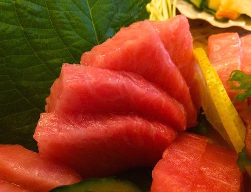 Matsumi tuna sashimi - o-toro
