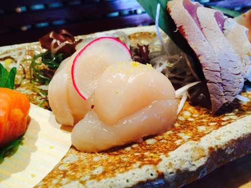Sushi Ran - hotategai (sea scallop)