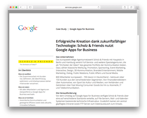 google-apps-scholz-and-friends