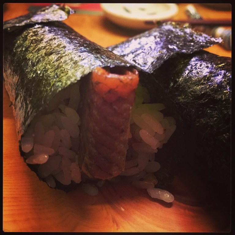 Matsumi - sake kava temaki