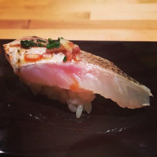 Sushi Ran - barracuda nigiri