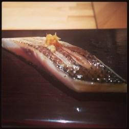 Sushi Ran - omakase - kamasu sashimi