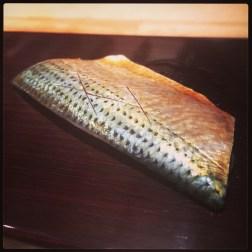 Sushi Ran - omakase - kohada sashimi