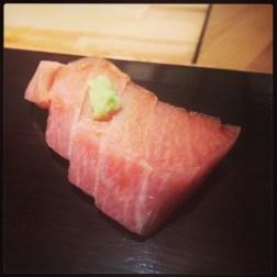 Sushi Ran - omakase - toro sashimi