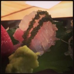 Sushi Ran - sashimi platter - ara