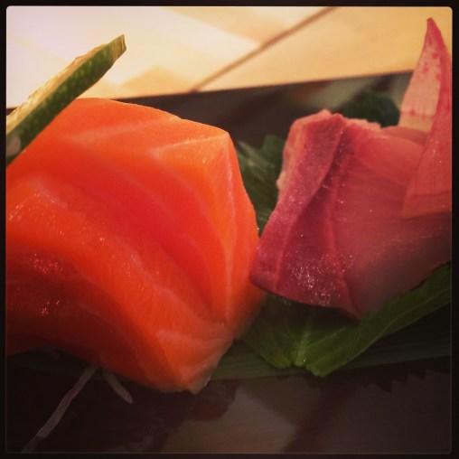 Sushi Ran - sashimi platter - king salmon, hamachi
