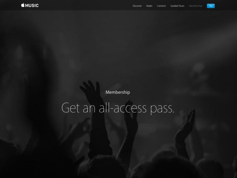 Apple - get an all access pass