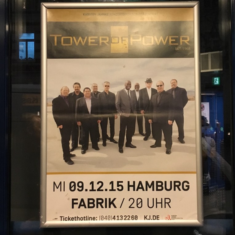 Tower of Power - live at Fabrik 2015 - 4