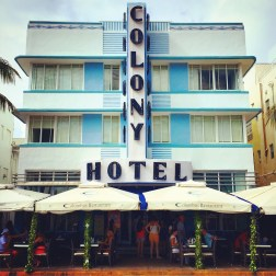 Miami Beach - Ocean Drive - Colony Hotel