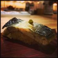 Sushi Ran - omakase - shirayaki eel nigiri