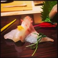 Sushi Ran - omakase - tennen hamachi wild yellowtail sashimi