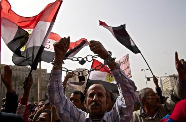 Tahrir Square Demonstration February 2013