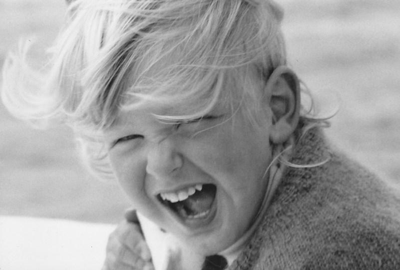 Moritz Winker als Kind