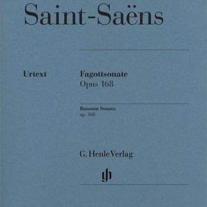 Camille Saint-Saens - Fagottsonate op. 168 - Handschrift